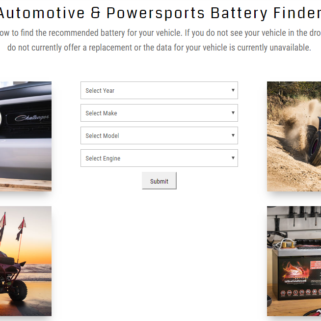 Fullriver Battery Finder