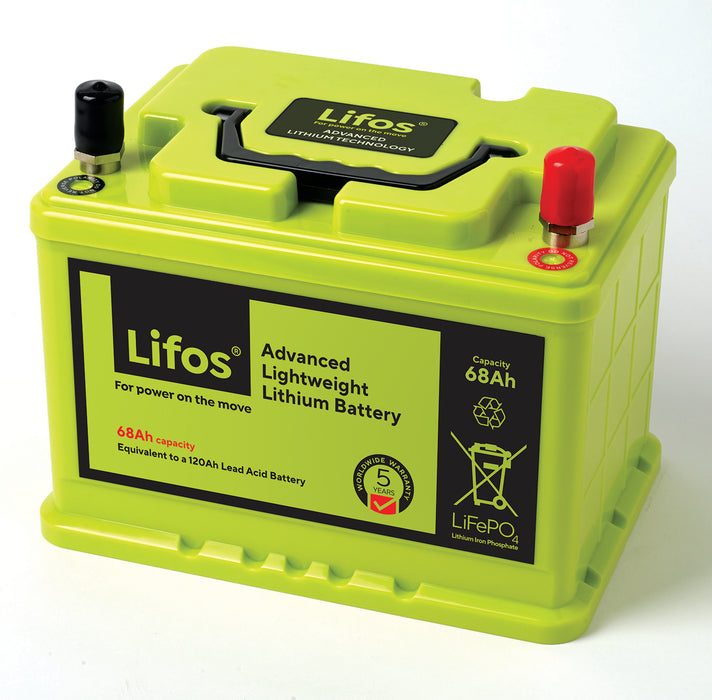 68Ah LiFOS - Leisure Lithium-Ion Battery
