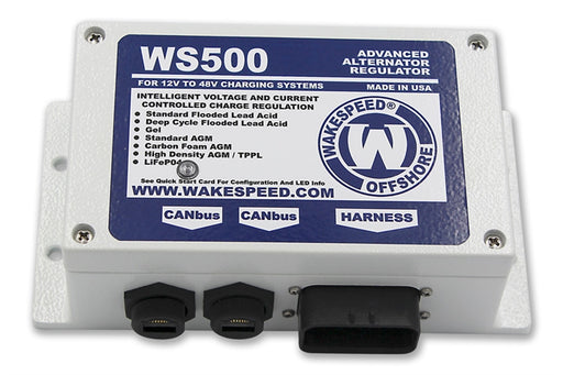 WS500 Advanced Alternator Regulator