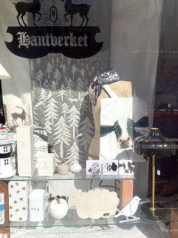 Hantverket shop in Borgholm selling Charlotte Nicolin's products
