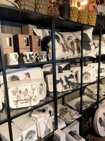 Animal trays, cushion covers and napkins it all fits great in our shop ❤️
