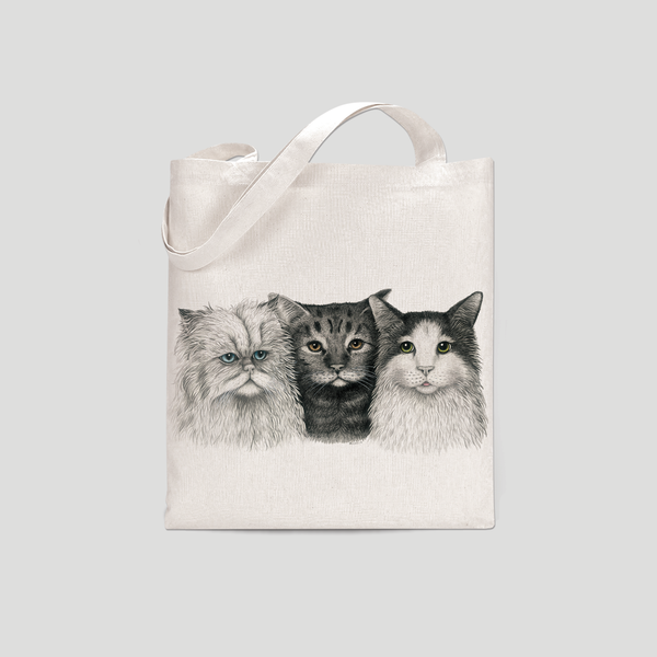 3 Cats - Tote bag
