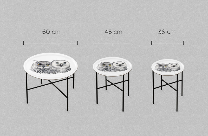tray table sizes