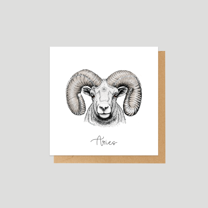 Aries - Mini card