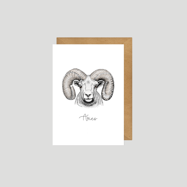 Aries - Art card