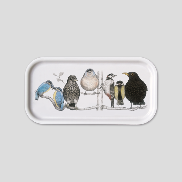 Birdland - Woodpecker - Blackbird - Long Tray