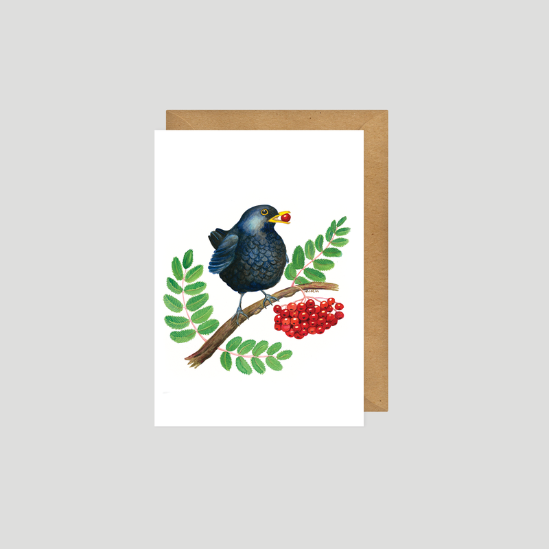 Blackie - Art card