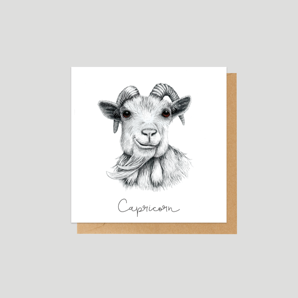 Capricorn - Mini card