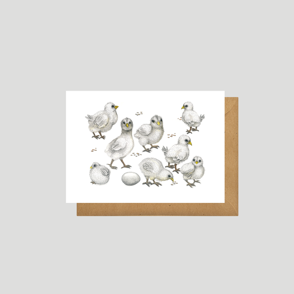 Chicks - Art card