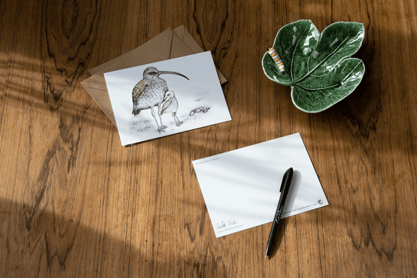 curlew bird card