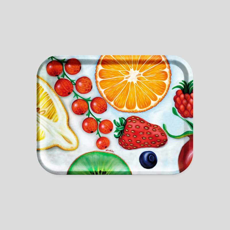 Fruit salad - Color tray