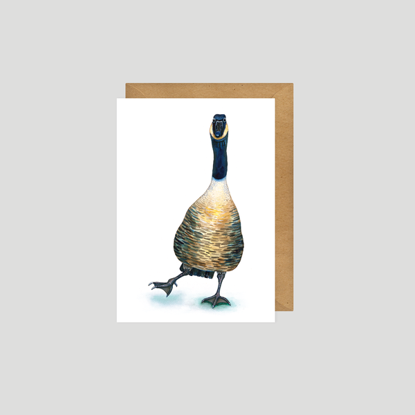 Gus the Goose - Art card