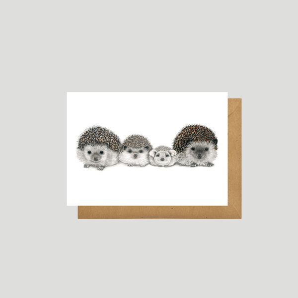 Henry's Family - Art card