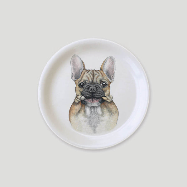 french bulldog mini tray