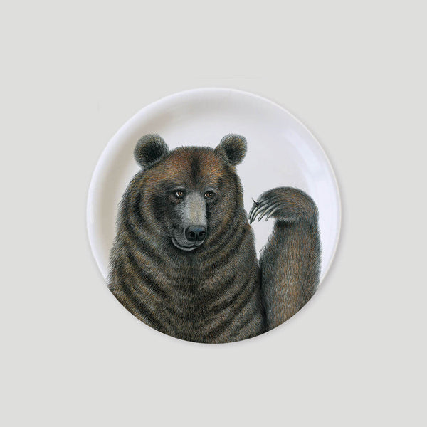 brown bear mini tray