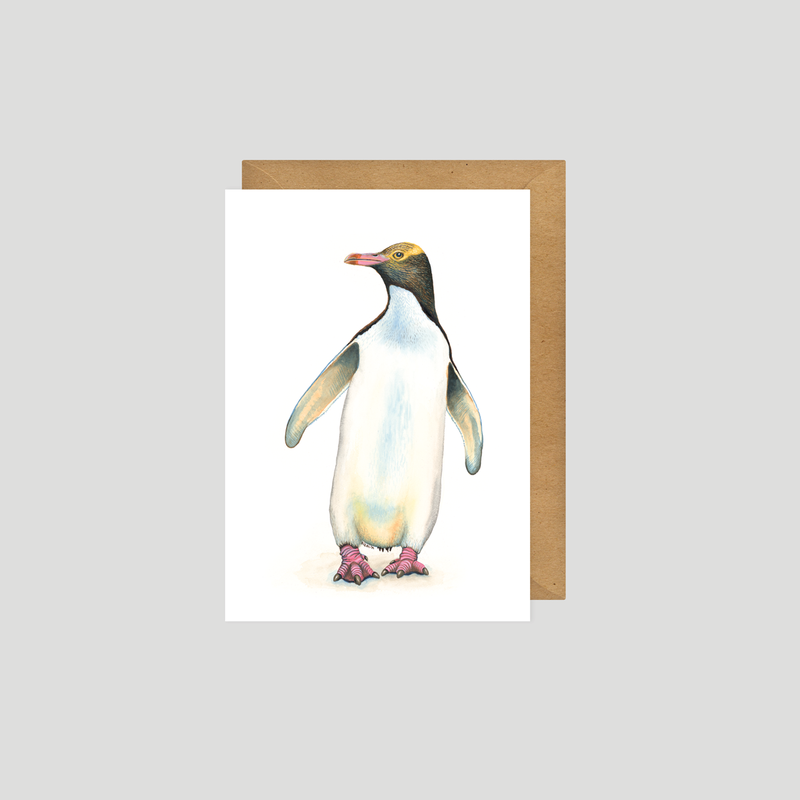 Penguin - Art card
