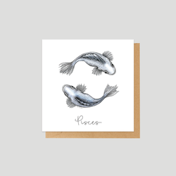Pisces - Mini card