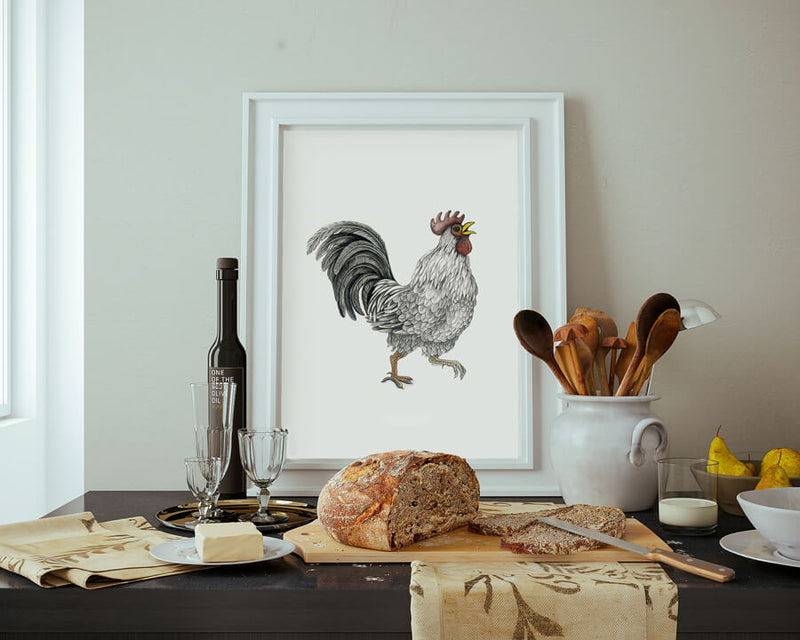 ralph the rooster poster