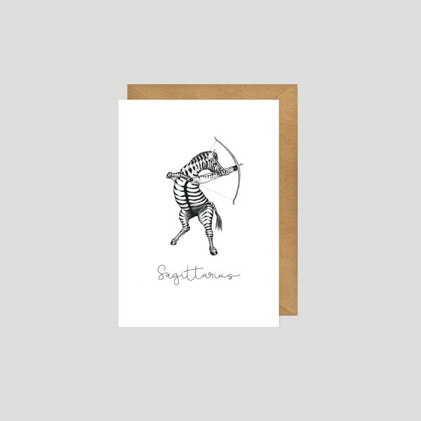 Sagittarius - Art card