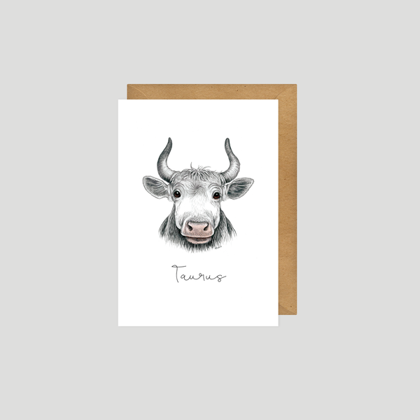 Taurus - Art card