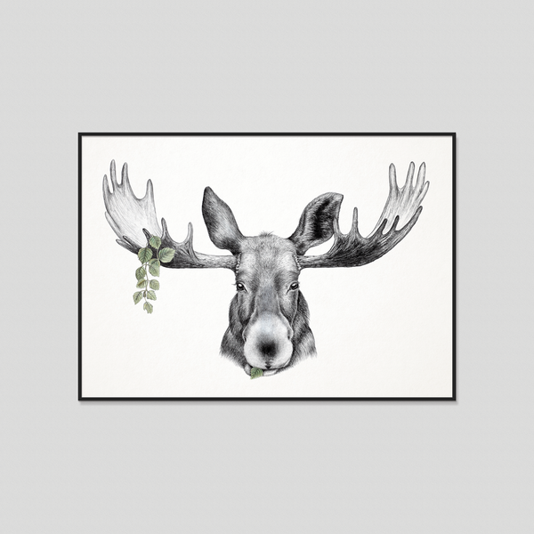 Forest Prince - Fine art print