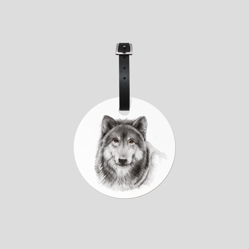 Woolfie - Luggage tag