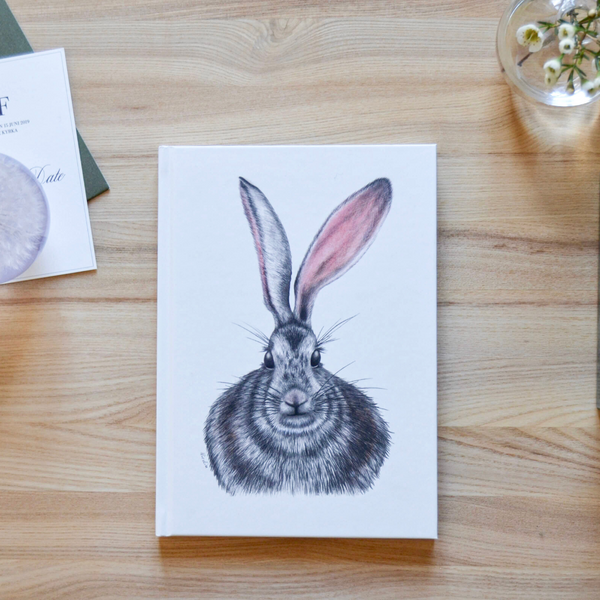 cute notebook rabbit