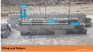 Ready Blocks CHB Piling and Rebar Instructions