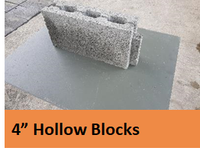 "4"" Hollow Block"