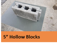 "5"" Hollow Block"