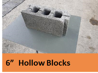 "6"" Hollow Block"