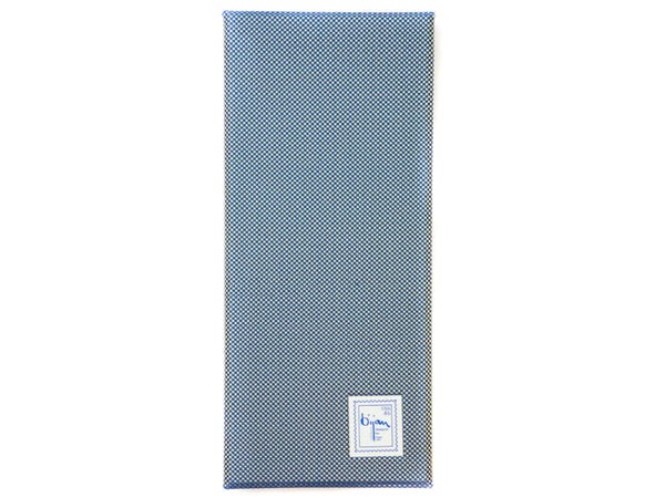 Bijan Blue Pure Silk Tie Set