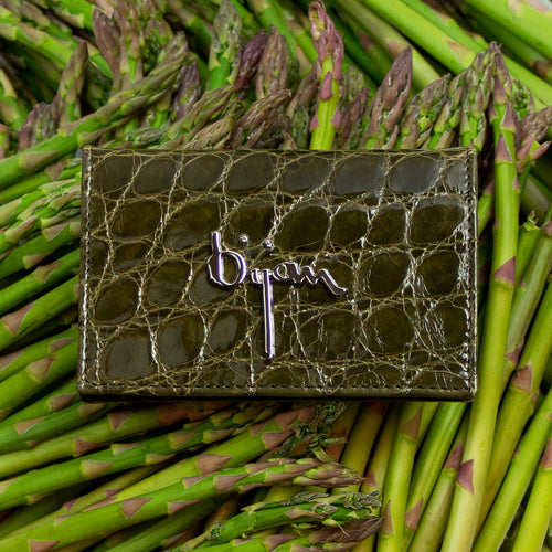 Dark Olive Credit Card Holder