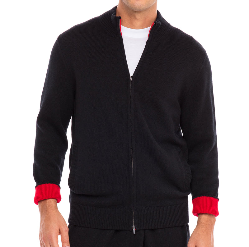 Bijan Brown Cashmere Sweater