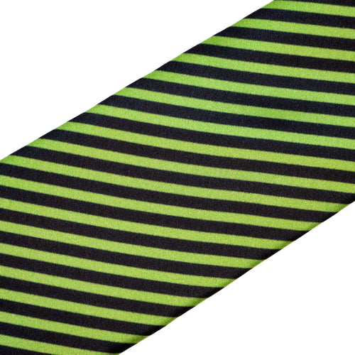 Black and Green Stripe