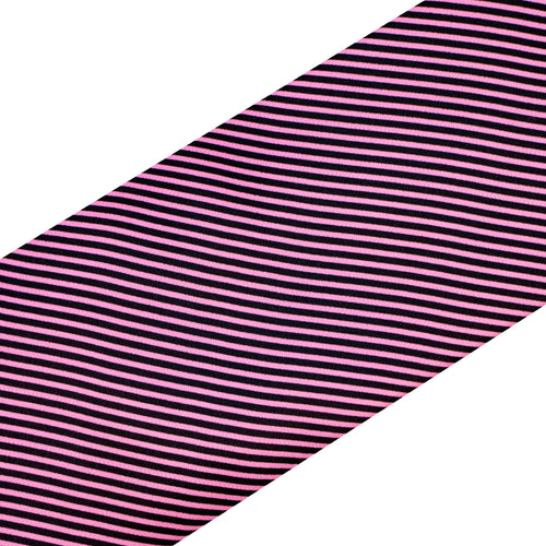 Pink and Black Stripe