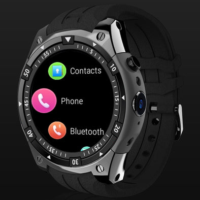 3G Android Sport Intelligent Dual Core Heart Rate GPS WiFi Smartwatch for IOS&Android phone - Moventin