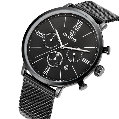 Chronograph Mesh Watch - Moventin