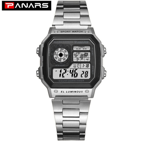 PANARS Chronograph Digital Watch - Moventin