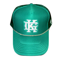"GK ""Halo"" Trucker Hat (Clover Green)"