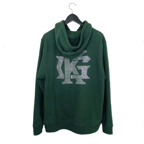 Forest Green Diamond Hoodies