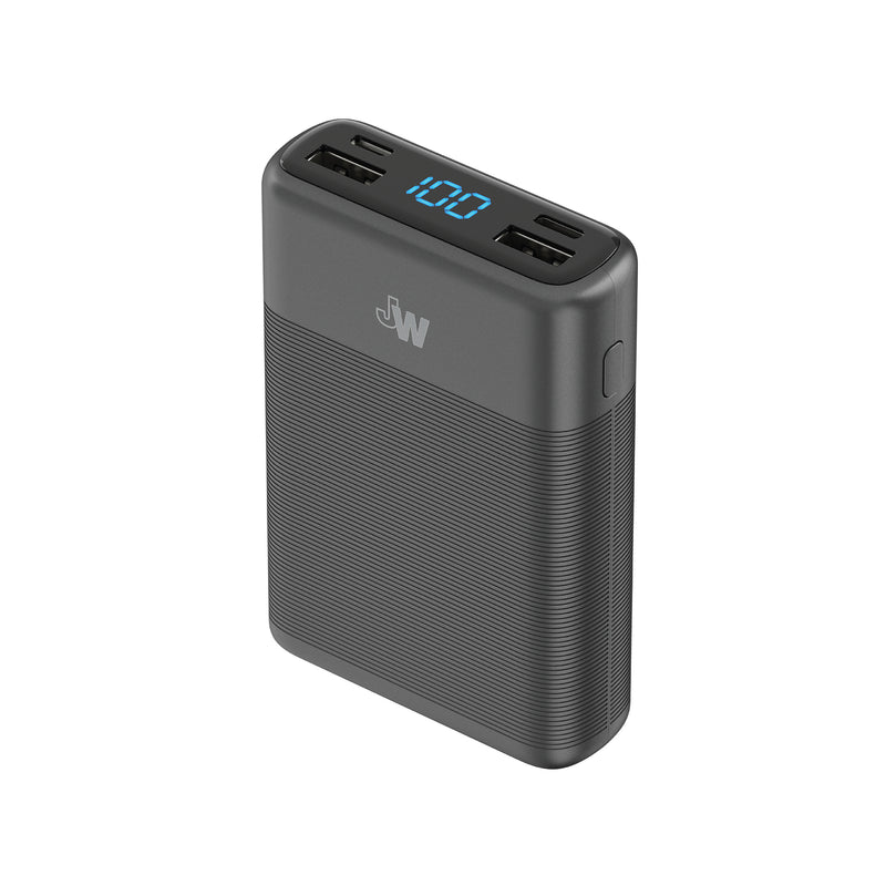 10,000 mAh 3-Port USB Power Bank with Power Delivery