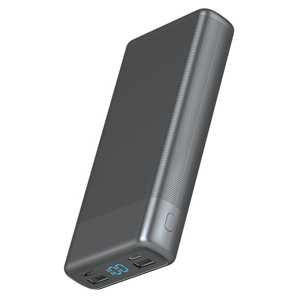 20,000 mAh 3-Port USB Power Bank