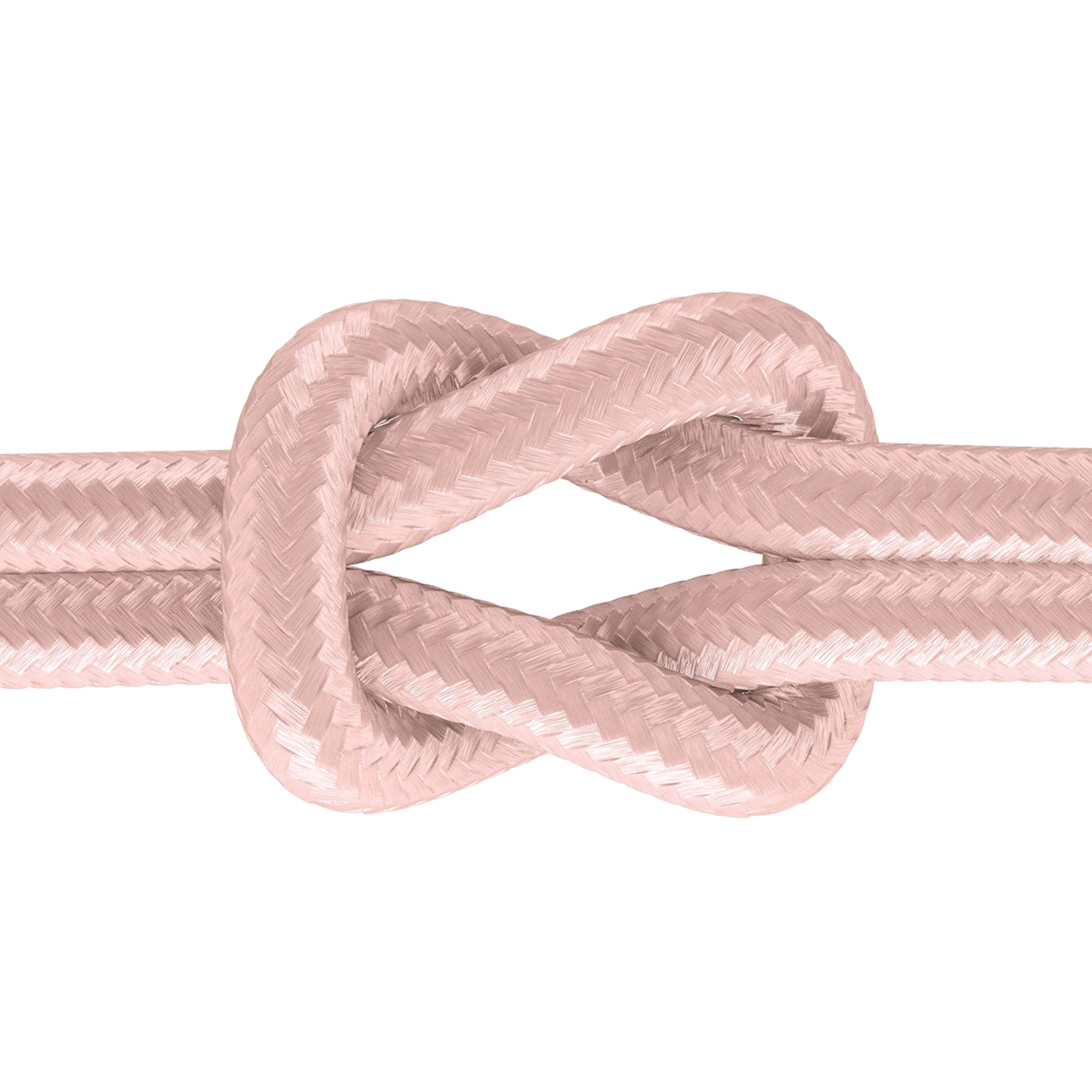 6ft Kevlar Lightning Nylon Braided Cable - Rose Gold