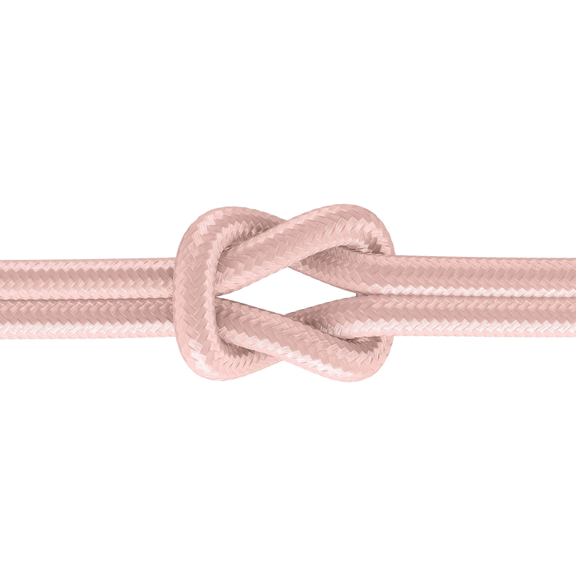 6ft Kevlar Lightning (PD) Nylon Braided Cable - Rose Gold