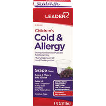 Cold + Allergy Childrens
