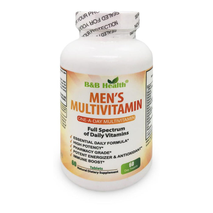 MEN'S DAILY MULTIVITAMIN & MULTIMINERAL SUPPLEMENT, 60 Tabs