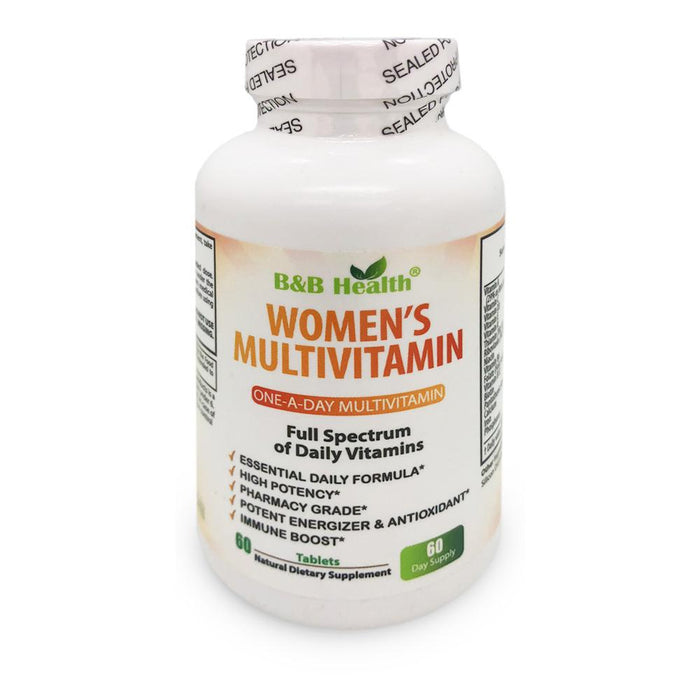 WOMEN'S DAILY MULTIVITAMIN & MULTIMINERAL SUPPLEMENT, 60 Tabs