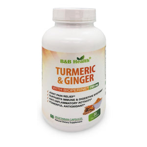 turmeric ginger anti inflammatory supplement