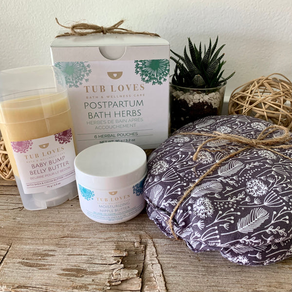 NEW MOM PREGNANCY AND POSTPARTUM GIFT SET